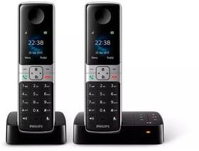 D6352B Duo Schwarz Festnetz Telefon Philips 785300156727 Bild Nr. 1