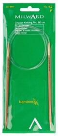Aiguilles à tricoter bambou No. 4.0 667094200020 Taille L: 21.5 cm x L: 9.0 cm x H: 0.9 cm Photo no. 1