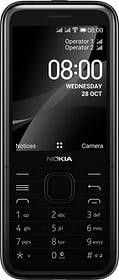 8000 4G Onyx Black Téléphone mobile Nokia 785300156844 Photo no. 1
