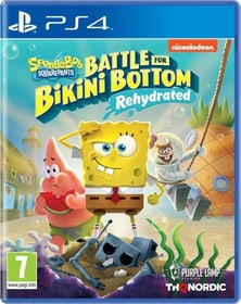 Spongebob SquarePants: Battle for Bikini Bottom - Rehydrated Box 785300152466 Langue Italien Plate-forme Sony PlayStation 4 Photo no. 1