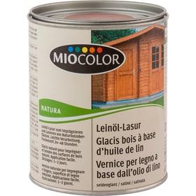Leinöllasur Kastanie 750 ml Holzöle + Holzwachse Miocolor 661289800000 Bild Nr. 1