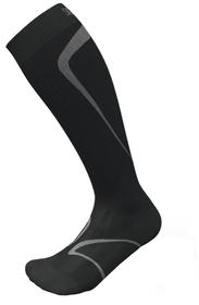 RUNNING SOCKS Kompressionssocken Sigvaris 497144439620 Farbe schwarz Grösse 39-42.5 M Bild-Nr. 1
