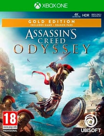 Xbox One - Assassin's Creed Odyssey - Gold Edition Box 785300137727 Photo no. 1