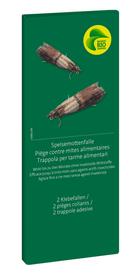 Speisemottenfalle, 2 Klebefallen Insektenfalle Migros-Bio Garden 658419500000 Bild Nr. 1