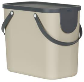 Recycling Müllsystem 25 l ALBULA Rotho 604133400000 Farbe Cappuccino Bild Nr. 1