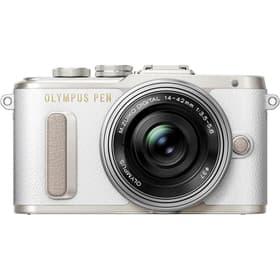 PEN E-PL8 Pancake Zoom blanc Kit appareil photo système Olympus 785300125802 Photo no. 1