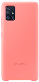Silicone Cover pink Hülle Samsung 798653400000 Bild Nr. 1
