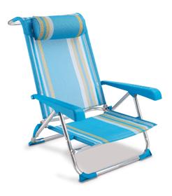 Beach Chair SUMMER Chaise longue 753032700000 Photo no. 1
