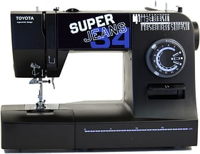 Super Jeans 34 XL Macchina da cucire meccanica Toyota 717496000000 N. figura 1