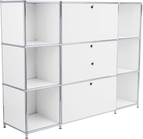 FLEXCUBE Buffet alto 401809400010 Dimensioni L: 152.0 cm x P: 40.0 cm x A: 118.0 cm Colore Bianco N. figura 1