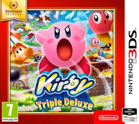 3DS - Nintendo Selects: Kirby Triple Deluxe Box 785300129620 N. figura 1
