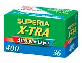 Superia 400 X-TRA 135-36 Fotofilm