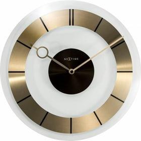 Horloge Murale Rétro Or Diamètre 3 Horologe murale NexTime 785300140300 Photo no. 1
