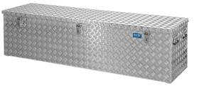 box en aluminium R470 Alu tôle gaufrée 3mm