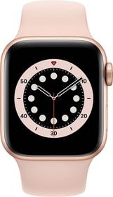 Watch Series 6 LTE 40mm Gold Aluminium Pink Sand Sport Band Smartwatch Apple 785300155480 Bild Nr. 1