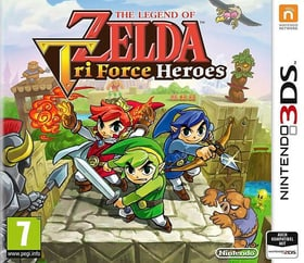 3DS - The Legend of Zelda: TriForce Heroes (D) Box 785300135786 Photo no. 1