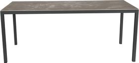LOCARNO, Gestell Anthrazit, Platte Keramik Gartentisch 753193018072 Grösse L: 180.0 cm x B: 85.0 cm x H: 74.0 cm Farbe Wild Grey Bild Nr. 1