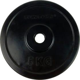 Gummierte 5 kg Gewichtsscheibe 30 mm Gewichtsscheiben Tunturi 463083200000 Bild-Nr. 1