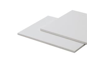 Plaques opaques plates en PVC