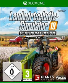 Xbox One - Landwirtschafts-Simulator 19 - Platinum Edition D Box 785300146816 Bild Nr. 1