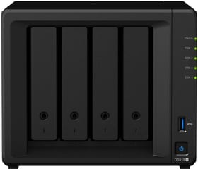 DiskStation DS918+ NAS logement vide Network-Attached-Storage (NAS) Synology 785300130617 Photo no. 1