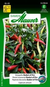 Zierpaprika Basket of Fire Gemüsesamen Samen Mauser 650157200000 Bild Nr. 1