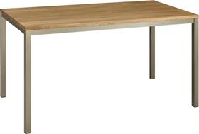 ALEXIS II Table 402399515002 Dimensions L: 120.0 cm x P: 80.0 cm x H: 75.0 cm Couleur Chêne massif Photo no. 1