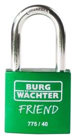 Zylinder-Vorhangschloss 775 40 35 GREEN SB Burg-Wächter 614168700000 Bild Nr. 1