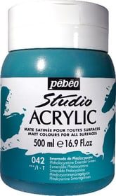Pébéo High Viscosity Studio 500ml Pebeo 663534271042 Farbe Smaragdgrün Bild Nr. 1