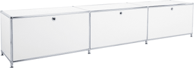 FLEXCUBE Buffet bas 401813530110 Dimensions L: 227.0 cm x P: 40.0 cm x H: 44.5 cm Couleur Blanc Photo no. 1
