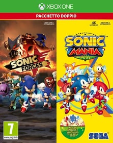 Xbox One - Sonic Mania Plus and Sonic Forces Double Pack I Box 785300139888 Photo no. 1