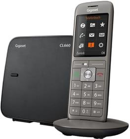 CL660 anthrazit Téléphone fixe Gigaset 785300133472 Photo no. 1