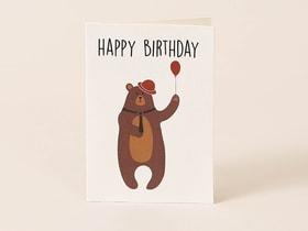 Happy Birthday Postkarte 657694000000 Bild Nr. 1