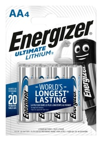 Lithium AA / L91 (4Stk). Batterie Energizer 704710200000 Bild Nr. 1