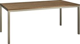 ALEXIS II Table 403700515003 Dimensions L: 200.0 cm x P: 90.0 cm x H: 75.0 cm Couleur Chêne foncé Photo no. 1