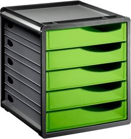 Spacebox 5 Schübe geschlossen Schubladenbox Rotho 604086100000 Bild Nr. 1
