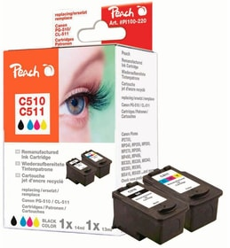 Multipack Canon PG-510 / CL-511 Cartouche d'encre Peach 785300154239 Photo no. 1