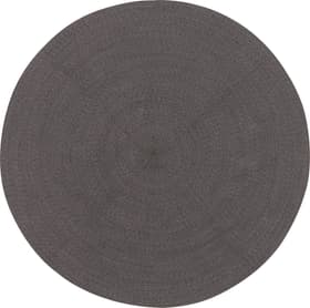 RONDO Tapis 412026116280 Couleur gris Dimensions D: 150.0 cm Photo no. 1