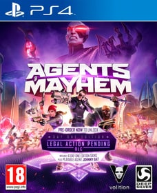 PS4 - Agents of Mayhem Day One Edition
