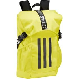 4ATHLTS BP Borsa per lo sport Adidas 499589099955 Colore giallo neon Taglie One Size N. figura 1