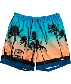 """Paradise 15"""" - Schwimmshorts Pantaloncini da bagno da bambino Quiksilver 466972412834 Colore arancio Taglie 128 N. figura 1"""