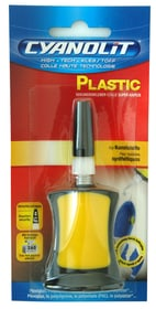 Colla ultrarapida plastic