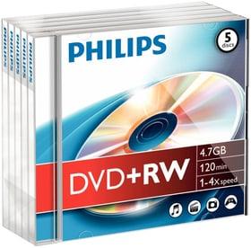 DVD+RW 4.7 GB 5-Pack DVD masterizzabili Philips 787241800000 N. figura 1
