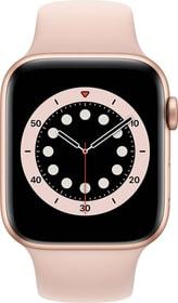 Watch Series 6 LTE 44mm Gold Aluminium Pink Sand Sport Band Smartwatch Apple 785300155506 Bild Nr. 1
