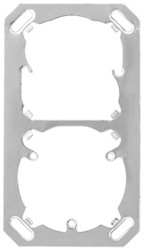 AP/UP 2-fach, 3x Montageplatte Mica for you 612137900000 Bild Nr. 1