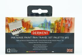 12 Inktense Paint im Reisebox #2 Pebeo 667040000000 Bild Nr. 1