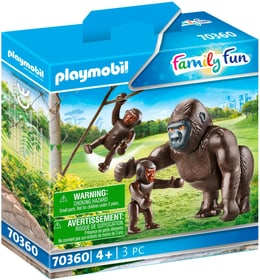 70360 Gorille avec ses pet PLAYMOBIL® 748030300000 Photo no. 1