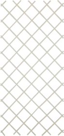 Griglia di plastica estensibile Do it + Garden 647034200000 Colore Bianco Taglio L: 90.0 cm x P: 4.0 cm x A: 180.0 cm N. figura 1