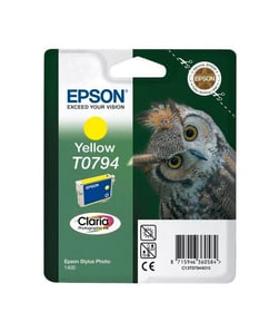 T0794 Claria  jaune Cartouche d'encre Epson 785300124958 Photo no. 1