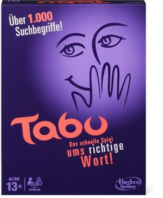 Tabu (D) Hasbro Gaming 746945590000 Langue Allmend Photo no. 1